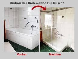 Badewanne Mit Dusche Wanne Zur Dusche Badewanne Raus Dusche Rein Bad Teilsanierung