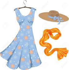 Summer Dress Clipart