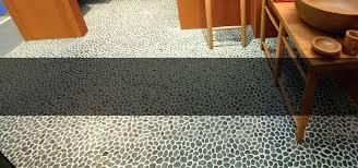 pebble floor tile sliced pebble tile for shower floor soloapp me