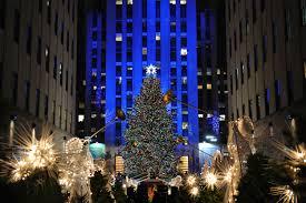 Christmas Tree Rockefeller Center Lighting by Avraham Glattman Holiday Adventures In Nyc
