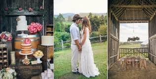 Karas Party Ideas Rustic Country Barn Wedding