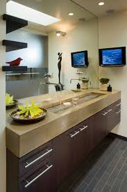 Trough Sink With Two Faucets by Simple Yet Beautiful Trough Sinks For Your Bathroom U2013 Decohoms