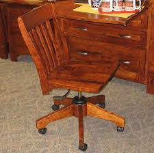Modesto Secretary Desk And Chair Set Shown In Rustic Cherry With