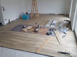 hausbau nickern tag 155 vinylboden wohnzimmer