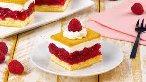 genuss in schichten himbeer keks kuchen leckerschmecker