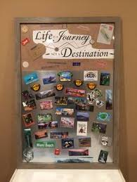 My DIY Magnet Board I Made To Display Collection From Travels
