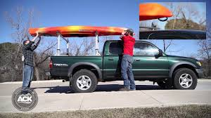 100 Canoe Racks For Trucks How To Properly Secure A Kayak To A Roof Rack YouTube