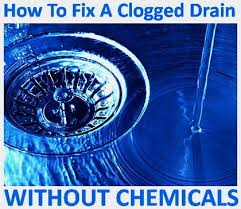 Natural Remedy For Clogged Bathroom Drain by 5 Ways To Clear A Clogged Drain Without Chemicals