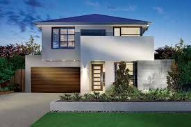 Modern House Fronts by Luxurious Front Yard Design Of Modern House Plans With Pools