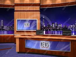 Coming Soon Financial News Virtual Set