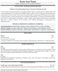 Cpa Resume Example Accounting Student Sample Top Templates Samples