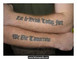 Great Tattoo Quotes For Men