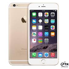 Apple iPhone 6 128GB Gold ficial Warranty price in Pakistan
