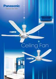 ceiling fan panasonic home appliances pdf catalogues