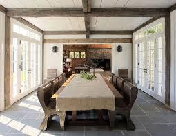 cabin fervor slate dining room floor