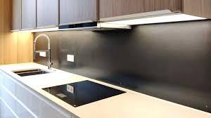 schwarzstahl küchenrückwand als spritzschutz