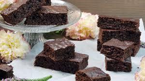 gesunde low carb brownies backen ohne mehl weißen zucker