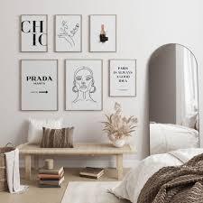 heimlich premium poster set prada marfa wallart for your