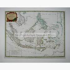 East Indies Archipel Des Indes Orientales C1740 Maps KittyPrint 1700s India