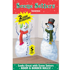 Halloween Scene Setters Amazon by Snowman Party Shopping Guide Everyday Parties