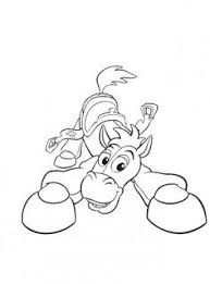 Bullseye Toy Story Coloring Pages