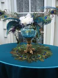Astounding Peacock Wedding Table Decorations 39 For Your Wedding