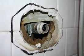 fix leaky shower bathtub faucet single handle kohler spout