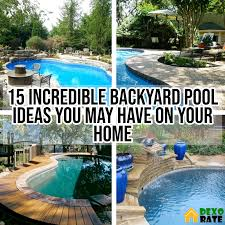 Backyard Pool Party Decorating Ideas