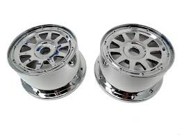 1/5 Baja 5B Buggy Rear Chrome Wheels, Rims: Rovan RC - 1/5 Scale ... Vision Hd Ucktrailer 181 Hauler Duallie Wheels Katavi Truck Rims By Black Rhino Fuel 1 Piece Wheels D573 Cleaver Chrome Off Road Traxxas 38 Hurricane Monster 2 Revo Incubus 525 Novacaine Wheel Rim Center Cap Emr525truck Sgd00010 Xd Series Xd778 For Sale Buick Regal Lesabre Best D268 Crush 2pc Forged Center With Face Kmc Km651 Slide Giovanna Essex Machined With Stainless Steel Lip