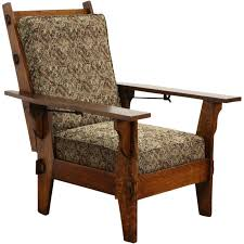 Antique Morris Chair Recliner Arts U0026 Crafts Mission ... Antique Wooden Chairs Timothykparkcom Dragon Chairs 97 For Sale On 1stdibs Antique Rocking Chair With Tooled Leather Seat Collectors Tips On Checking Rocking Chair With Leather Seat Image And Big Cedar Rocker 19th Century 91 At Attractive Oak Home And Vintage Bentwood By Thonet Best Recliner Used For Chairish