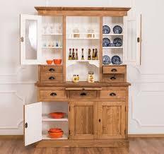 unser hit günstiger küchenschrank esszimmerschrank glasvitrine massivholz im landhausstil