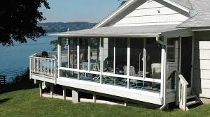 Vinyl Patio Curtains Outdoor by Screen Rooms Screened In Room Screened Patios Patio Enclosures