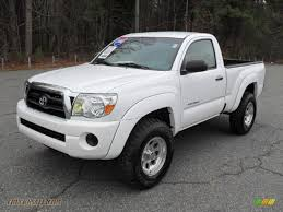 2008 Toyota Tacoma PreRunner Regular Cab In Super White - 584785 ...