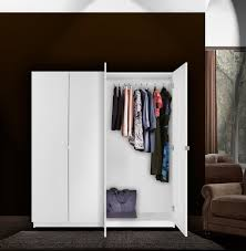 Brusali Wardrobe With 3 Doors by Tiny Free Standing Closet Armoire Roselawnlutheran