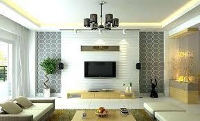 Tv Wall Ideas Decorations Decor Stunning Home Design Within Idea Mount