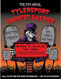 Halloween Hayride 2014 by Tylersport Volunteer Fire Company U0027s Haunted Hayride Archives
