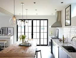 glass pendant lighting for kitchen islands clear glass pendant