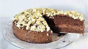 kleine schokoladen kaffeecreme torte