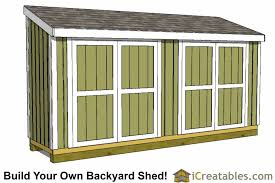 Diy Storage Shed Plan by 4x16 Lean To Shed Plans 4x16 Storage Shed Plans