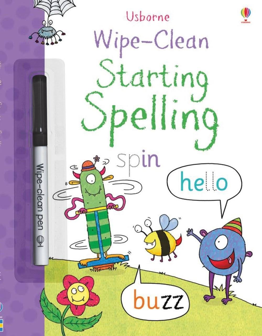 Wipe-Clean Starting Spelling [Book]