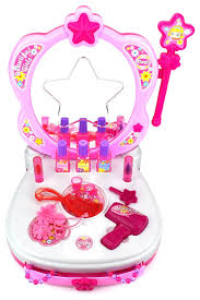 Princess Kitchen Play Set Walmart by American Plastic Deluxe Vanity With 15 Piece Accessory Set