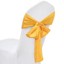100pcs Satin Chair Cover Bow Sashes Band Easy Clean Elegant & Royal ... Wedding Chair Covers Stock Photo Image Of Yellow Celebration Black Organza Chair Sashes 10pcs Elegant Event Essentials Simply Weddings Cover Rentals Universal Polyester Sale Bulk 50 Wedding Sash Striped Etsy How To Decorate Chairs With Tulle 8 Steps Pictures Amazoncom Lanns Linens 10 Satin Weddingparty Covers Solutions Sparkles Make It Special Pc Royal Blue 108x8 Gold For Bridal Tablecloths White Foldingampquot Silver Organza 100 Pink Bow