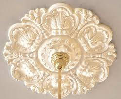 Small Two Piece Ceiling Medallions by Vintage Hardware U0026 Lighting Recreated Acanthus 30