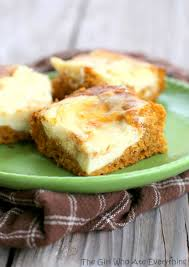 Pumpkin Cake Mix Bars by Pumpkin Cream Cheese Bars