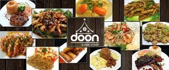 de cuisine thailandaise doon and fusion cuisine manila philippines menu