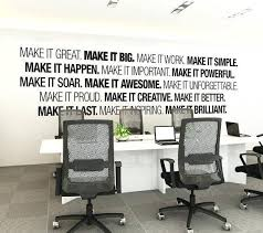 Office Decor Awesome Wall Art Corporate Supplies By Diy