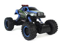 100 Rc 4wd Truck CrossCountry Racing Rock Crawler 4WD Toy Blue Rally RC Car