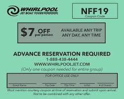 $7 Off Whirlpool Jet Tours Niagara Falls Promo Code - Visit ...