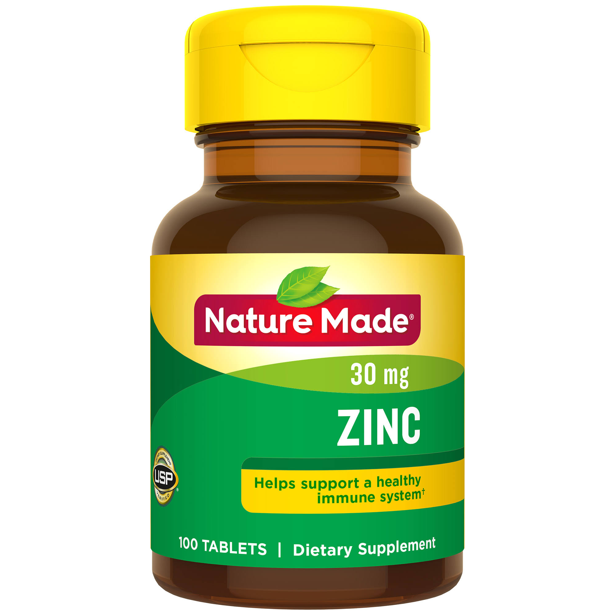Nature Made Zinc 30mg Tablets - x100