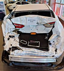 100 Wrecked Chevy Trucks Toyota Dealership Displays 2018 Toyota Camry That Got RearEnded By
